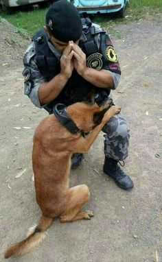 ~ Plead the blood of Yeshua HaMashiach (everyday) over all military dogs and their human partners [serving around the world]. ~