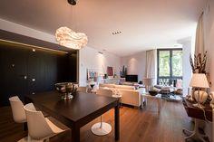 Comedor abierto al salón | Proyecto de reforma Pedralbes | Standal #diseño #interiores #reformas #pisos #comedor #salón #decoración #mobiliario