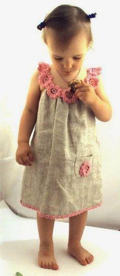 O crochet é uma arte manual que pode ser associada a variados trabalhos de costura. Aqui, ficam algumas sugestões :) B...