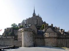 Mont-Saint-Michel and its Bay, France.