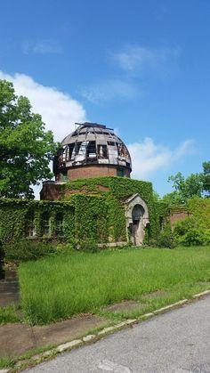 Abandoned Observatory: East Cleveland, Ohio