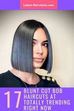 This is it ladies! The cutest blunt cut bob haircuts are right here. Click here to see them before your next haircut! (Photo credit IG @vitosatalino_official) Latest Hairstyles, Bob Hairstyles, Blunt Bob Haircuts, Blunt Cuts, Face Shapes, Short Hair Cuts, Photo Credit, Lady, Hair Styles