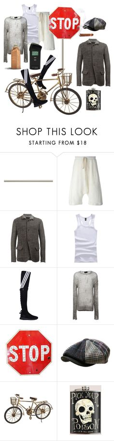 """Over the limit"" by ohitsjanedoe ❤ liked on Polyvore featuring Laura Ashley, Lost & Found, Y-3, Pier 1 Imports, men's fashion, menswear, death, alcohol, ghosts and drunkdriver"