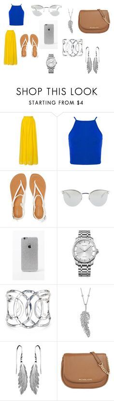 """""""SPRING:))))"""" by katiemcgee1972 on Polyvore featuring Aéropostale, Fendi, LA: Hearts, Calvin Klein, Penny Preville, MICHAEL Michael Kors, women's clothing, women, female and woman"""