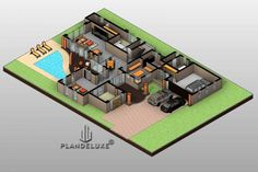 Modern-5-Bedroom-Double-Story-House-Floor-Plans_Ground-Floor-Plan_Plandeluxe