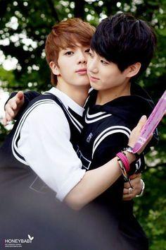 Fetus Jin and Jungkook