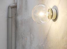 エクステリア照明 WHシーリング クリアボール