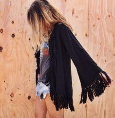 nico jacket // black