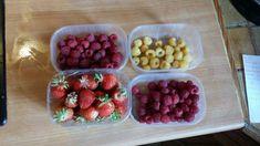 Raspberry, Strawberry, Potager Bio, Fruit, Food, Gardens, Herbs, Essen, Strawberry Fruit