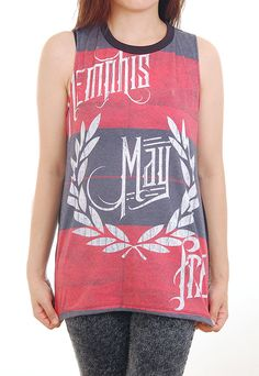 New ROCK PUNK Memphis May Fire Stripe Unconditional by punkwear