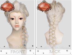 Frozen cosplay Elsa wig