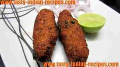 Shami Kabab is a delicious non-veg starter dish made with minced mutton. It is an exotic and very popular kabab recipe of India. This particular kabab is p
