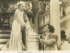 'Enchanted April' (1935); regia: Harry Beaumont. Titolo francese: 'Avril enchanté'