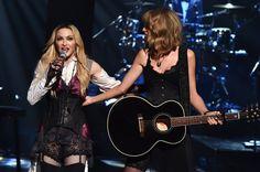 Pin for Later: Madonna und Taylor Swift überraschten alle mit ihrem Auftritt