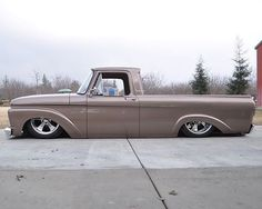 Hot Wheels - Yeah with his bad ass equipped Ford F100 looking  laid flat!