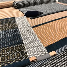 Gorgeous examples of flatwoven rugs from Kasthall