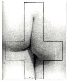 """The surrealist artist Man Ray published """"Monument à D.A.F. de Sade"""" appeared in Le Surréalisme au service de la révolution magazine. (Paris, May, 1933)"""