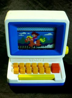 Fun for small children! RARE VINTAGE 80s TOMY TUTOR PLAY COMPUTER 1980s EDUCATIONAL TOY PC LEARNING KIDS - on eBay! $24.98