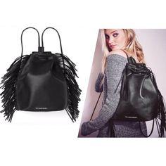 Last One Vs Fashion Show Fringe Backpack