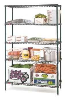 Metroseal 3 Finish is a multi-layer corrosion resistant finish consisting of a… Stainless Kitchen, Room Shelves, Wire Shelving, Commercial Kitchen, Cold, Customer Service, Epoxy, Rust, Delivery