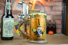 Chope à bière The Mayor du film d'animation Nightmare