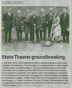 State Theater groundbreaking