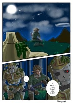 Will be posting about latest Zelda games~ if not new trailers/etc - then beautiful art inspired by.. (1)