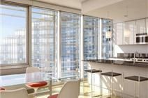 Floor to ceiling windows with expansive city views | Rental | Clinton | New York    Listing Details  Type: Rental Rent: $2,500  Listing ID: 1064937 Size: Studio  2.5 rooms / 1 / 1 baths Service Level: Full Service