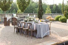 Coffee bar at outdoor wedding #weddingplanning #wecatercoffee