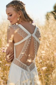 85fe04ef An effortless boho wedding dress collection from Rembo Styling complete  with cosy cashmere and mohair pieces.