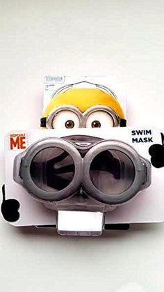 Despicable Me Minion Swim Mask Goggles #MINIONS