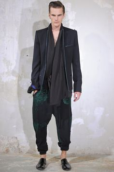 Haider Ackermann: menswear spring/summer 2014