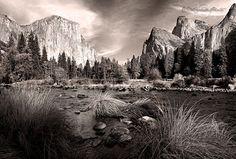 ANSEL ADAMS Ansel Adams Photos, Black N White Images, Black And White, Ansel Adams Photography, Western Landscape, Photo Reference, Art Reference, Yosemite Valley, Natural Phenomena