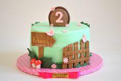 Torta Bosco per il Compleanno     Fate di Zucchero - Cake Designers