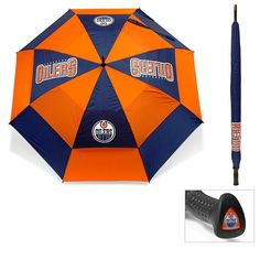 Edmonton Oilers NHL 62 inch Double Canopy Umbrella