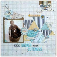 GrandDiva's Creative Corner: Basket Full of Cuteness