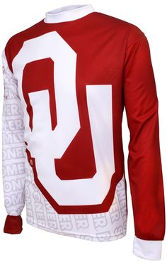Taunt your opponents as you hit the trails or head to the bleachers to REPRESENT WHILE YOU PLAY in this officially licensed garment from Adrenaline Promotions. Oklahoma Sooners Apparel, Mountain Bike Jerseys, Ou Football, Christmas Shopping, Beautiful Outfits, Clothes For Women, Sweatshirts, How To Wear, Tops