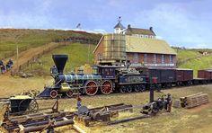 USMRR Aquia Line and other Model Railroad Adventures: Port Layout