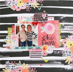 She Blooms **Bella Blvd DT** - Scrapbook.com