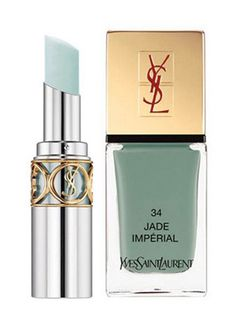 YSL Spring 2013: Arty Stone Makeup Collection - this color is intriguing.