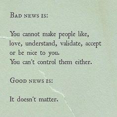 Slecht nieuws Of toch niet....