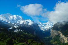Travel with Me: Wengen-Switzerland | Alpine Pearl Beneath the Towe...