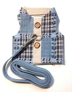 Patches harness vest and matching leash for small by Lollypups
