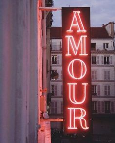 Hotel Amour, Paris Amour is a very popular hotel in Paris. Neon Aesthetic, Aesthetic Vintage, Aesthetic Photo, Aesthetic Pictures, Night Aesthetic, Photo Wall Collage, Picture Wall, Images Murales, Image Deco