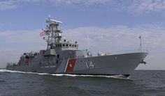 The Newest member of the U.S. Coast Guard Fleet.  USCG High Endurance Cutter Tornado.