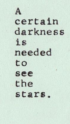 I am the star through my darkness..  (Around Chandelier Tattoo)
