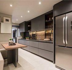 Modern Luxury Kitchens For A Grand Kitchen Modern Luxury Kitchens For A Grand Kitchen Kitchen Room Design, Luxury Kitchen Design, Kitchen Cabinet Design, Luxury Kitchens, Home Decor Kitchen, Kitchen Living, Interior Design Kitchen, Home Kitchens, Small Modern Kitchens