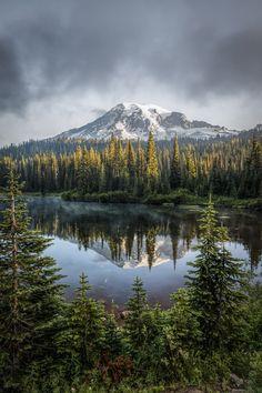 Mount Rainier National Park, Washington l Photo by Darren Neupert Parc National, National Parks, Beautiful World, Beautiful Places, Mount Rainier National Park, Adventure Is Out There, Amazing Nature, Belle Photo, Beautiful Landscapes