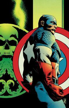 Captain America by Patrick Zircher