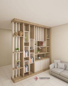 Living Room Partition Design, Living Room Divider, Living Room Tv Unit Designs, Room Partition Designs, Home Living Room, Living Room Decor, Room Divider Bookcase, Home Room Design, Home Interior Design